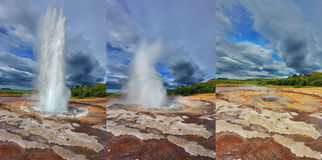 Fountain Geyser Royalty Free Stock Photo