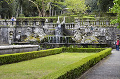 Fountain of the Giants, Villa Lante Royalty Free Stock Photos