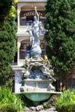 Fountain Goddess Night Gurzuf, Crimea, Ukraine Royalty Free Stock Photos