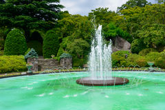 Fountain of Gora Park in Hakone, Kanagawa, Japan Stock Images
