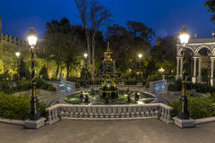 Fountain in the Governor's garden in Baku. Nature Stock Images