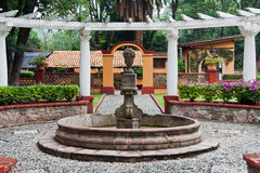 Fountain in Guanajuato Mexico Stock Photography