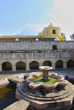 Fountain (Guatemala). A fountain in a square in Antigua, Guatemala Royalty Free Stock Photos