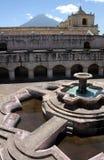 Fountain in Guatemala Royalty Free Stock Photo