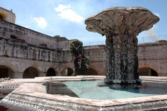 Fountain - Guatemala Stock Photography
