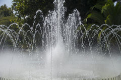 Fountain gushing water. Royalty Free Stock Photography