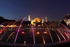 Fountain at Hagia Sophia Mosque Stock Image