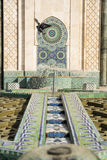 Fountain of Hassan II Stock Photo