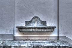 Fountain in hdr Stock Images
