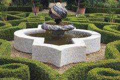 Sudeley Castle fountain in Winchcombe, England Stock Image