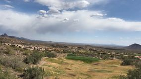 Fountain Hills near Scottsdale Arizona, USA. Time - lapse video footage of Fountain Hills near Scottsdale Arizona, USA stock video footage