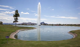 Fountain Hills stock image