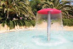 Fountain. In the hotel on the Tyrrhenian sea Stock Image
