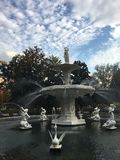 Forsyth Park Fountain royalty free stock image