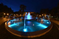 Free Fountain In Krynica Royalty Free Stock Photos - 58440168