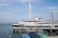 Free Fountain In Lake Geneva Royalty Free Stock Photography - 53228927