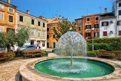 Free Fountain In The Historic Center Of Izola Old City, Slovenia Royalty Free Stock Image - 131482246