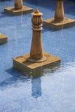 Fountain in india Stock Photos