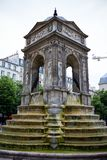 Fountain of the Innocents, Fontaine des Innocents at place Joachim-du-Bellay, Paris, France, June 25, 2013. stock image