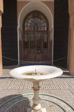 Fountain. Islamic architecture encompasses a wide range of both secular and religious styles from the foundation of Islam to the present day. What today is known Royalty Free Stock Photos