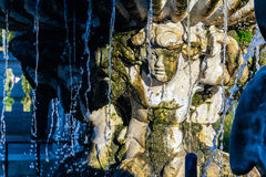 Fountain at The Italian Garden in Hyde Park Royalty Free Stock Images