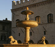 Fountain In Italy Royalty Free Stock Images