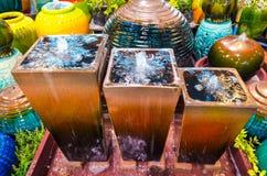 Fountain jar Royalty Free Stock Photos
