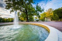 Fountain at Kadrioru Park stock photography