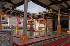 Fountain in  Kampung Kling Mosque Stock Image