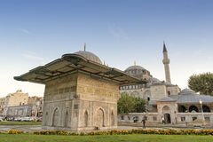 Fountain of Kilic Ali Pasha Mosque, Istanbul, Turkey Stock Photography