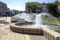 Fountain at L'Esplanade Francis Giordan, Nice Royalty Free Stock Photos