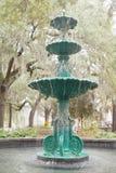 Fountain on Lafayette Square Historic Savannah GA Royalty Free Stock Image