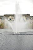 Fountain lake Stock Image