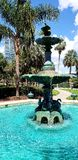 Fountain in Lake Eola Park Royalty Free Stock Photography