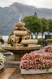 Fountain in Limone stock photos