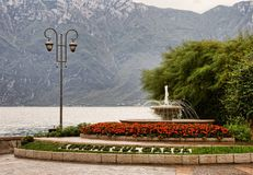 Fountain in Limone royalty free stock image