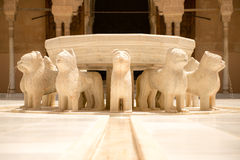Fountain of the Lions Royalty Free Stock Photography