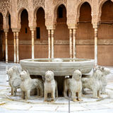 Fountain of the Lions Royalty Free Stock Images