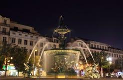 Fountain in Lisbon Royalty Free Stock Photo