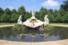 Fountain of Love, Cliveden, Buckinghamshire, England Stock Photography