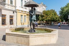 The fountain of love in Feodosia in Crimea royalty free stock photos