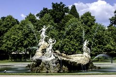 Fountain of Love. Cliveden Gardens National Trust, Taplow, United Kingdomn Royalty Free Stock Images