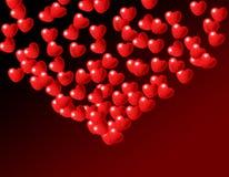 Fountain of Love Hearts royalty free stock photography
