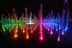 Fountain in Lublin stock photo