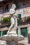 Fountain Madonna Verona Royalty Free Stock Image