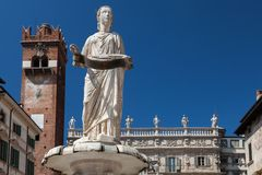 Fountain Madonna Verona Royalty Free Stock Photography