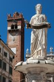 Fountain Madonna Verona Stock Photo
