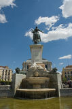 Fountain in Madrid Royalty Free Stock Photos