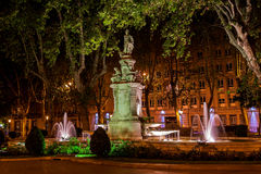 Fountain in Madrid Stock Photos
