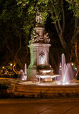 Fountain in Madrid. Spain - architecture background Royalty Free Stock Photos